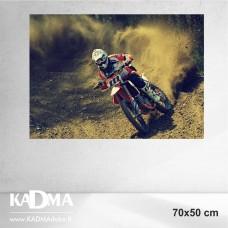 Fotodrobė MOTOCIKLAS 70x50 cm