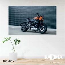 Fotodrobė MOTOCIKLAS 100x60 cm