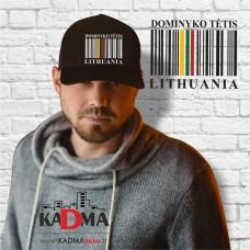 """Kepurėlė """"Barkodas LITHUANIA"""""""