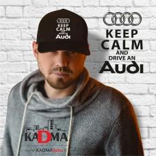 """Kepurėlė """"Keep Calm Audi"""""""