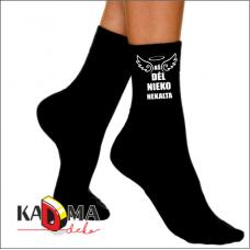"""Moteriškos kojinės """"Aš dėl nieko nekalta"""""""