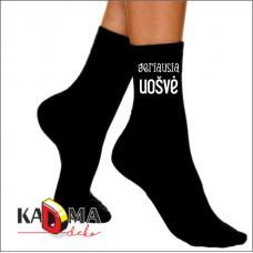 """Moteriškos kojinės """"Geriausia uošvė"""""""