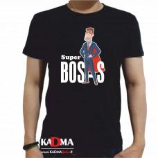"""Marškinėliai  """"Super Bosas"""""""
