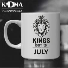 "Puodelis ""Kings born"""