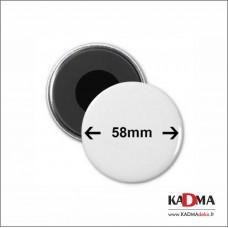 Magnetinis ženkliukas (58 mm)