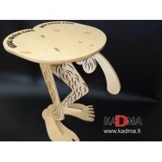 """Medžio faneros kėdė  """"Linksma kėdutė"""""""